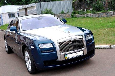 Rolls Royce Ghost авто прокат