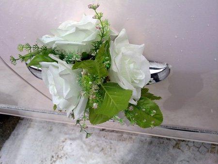 свадебные кольца на авто заказать